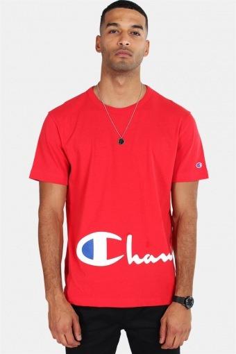 Crewneck T-skjorte Red