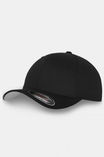Flexfit Wooly Combed Original Caps Black