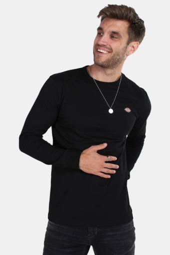 Dickes Round rock LS T-skjorte Black