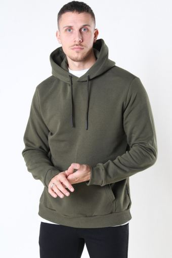 Ceres Life Hoodie Sweat Olive Night