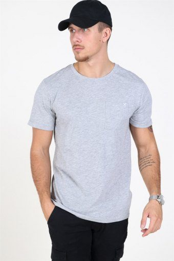 Clean Cut Kolding T-skjorte Light Grey Melange