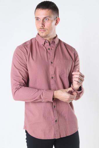 Bryce Life LS Reg Organic Skjorte BKlokkelwood
