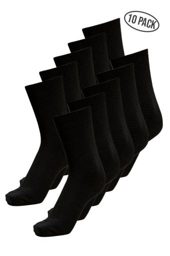 Andrew 10-Pack Strømper Black