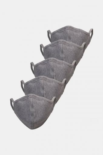 5-Pack Munnstykke Oxford Grey