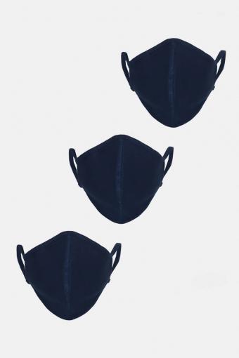3-Pack Munnstykke Navy