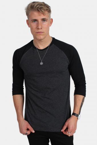 Klokkeban Classics Tb366 T-shirt Charcoal/Black