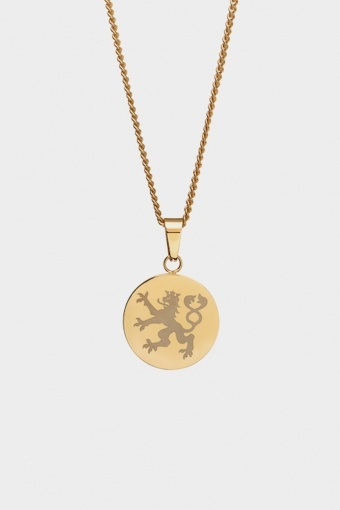 Lionheart Pendant Halskjede Gold
