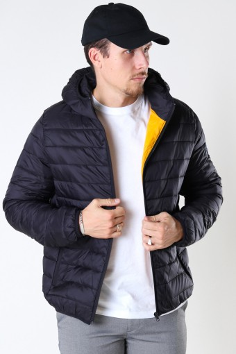 Shane Quilt Jacket Black