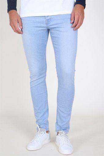SPUN Light Blue Jeans Blue Denim