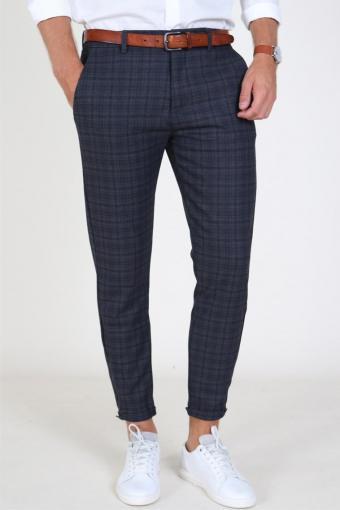 Pisa Redue Bukser Grey Check