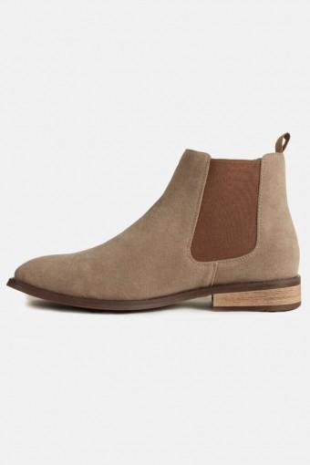 Chelsea Boots Semsket Sand