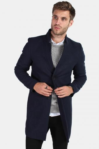 Maximilian Trench Coat Night Sky