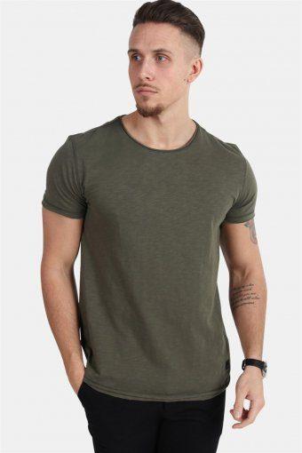 Konrad Slub S/S T-skjorte Army