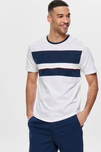 Lemar SS T-skjorte Bright White
