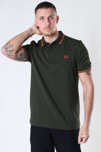 Twin Tipped Fp Shirt Hgrn/Brtgold/Rust