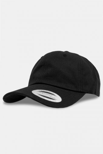 Flexfit Low Profile Cotton Twill Baseball Caps Black