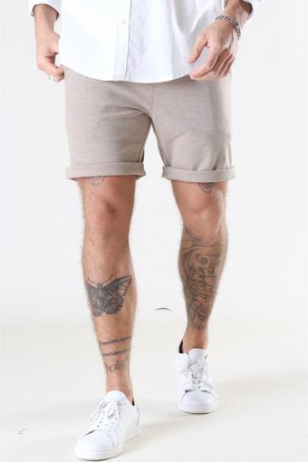 Clean Cut Milano Jersey Shorts Camel Melange