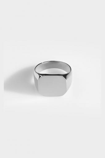 Ring Classic SignatKlokkee Silver