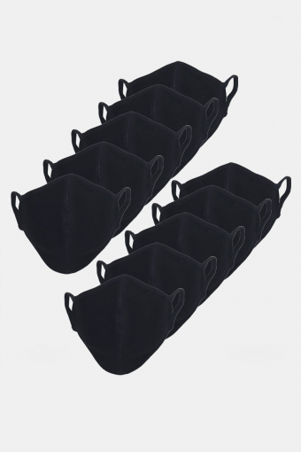 Stretch Munnstykke 10-pack Black