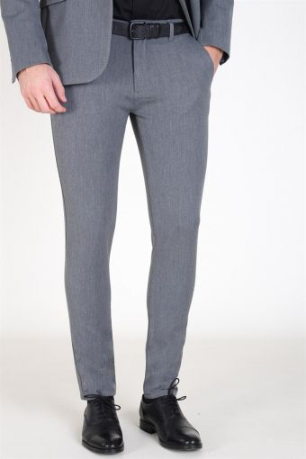 Tailored & Originals Frederic Pants Med Grey Melange