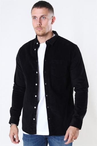 Johan CordKlokkeoy Overshirt Black