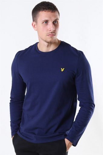 LS Crew Neck T-shirt Navy