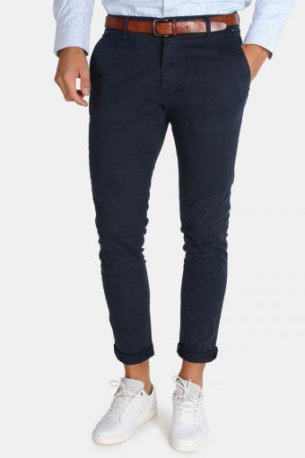 Tailored & Originals Rainford Bukser Insignia Blue