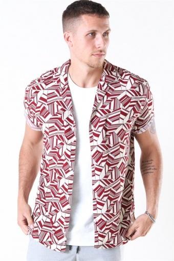 Buck Geo Skjorte Kit-Red