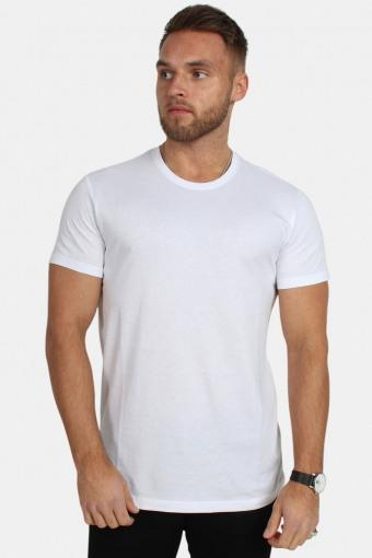 Rock Solid T-skjorte White