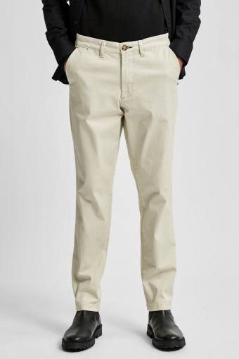 SLHSLIM-MILES FLEX CHINO PANTS W NOOS Moonstruck