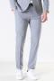Selected Slim Mylo Logan Pants Light Grey Melange